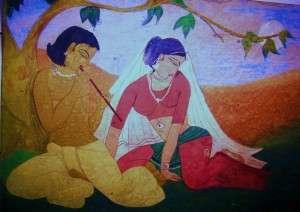 ~Painting By Shweta Mitra
